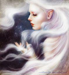 Elena (White by MartaEmilia on deviantART)