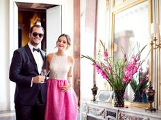 stylish wedding guests   Caught The Light photography