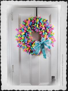 Beautiful Peeps Wreath #PEEPS