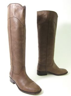 Chanel Riding Boots