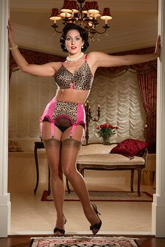 Bettie Leopard Bullet Bra - Pink Use CODE SS2014 for an additional 20% off only until midnight EST June 23.  In fact, all items from the Summer Sale Collection will get the additional discount!
