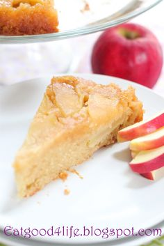 Eat Good 4 Life: Honey upside down apple cake