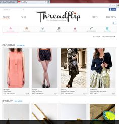 Threadflip Launches Online Consignment Shop