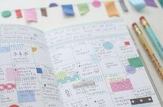 tape art illustrations, colors, paper, art journals, travel tips, planner, journal scrapbook, calendar, masking tape