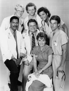 St. Elsewhere (1982) Cast: Denzel Washington, Ed Begley Jr; Mark Harmon, David Morse, Howie Mandel, Cynthia Sikes & Stepen Furst