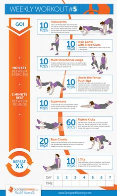 Weekly Workout #5
