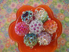 Crystal Spheres - BEADED BEADS