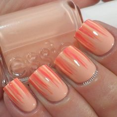 long nails and lots of essie