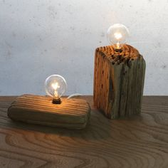 Each of these repurposed driftwood lamps is one of a kind.