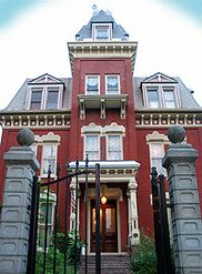 Haunted Scutt Mansion in Joliet, IL with article by Edward Shanahan http://edwardshanahan.com