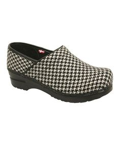 Take a look at this Black Professional Brooklyn Clog - Women by Sanita on #zulily today!