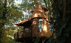 The Enchanted Forest / Blue Forest Tree Houses, Eco-lodges and Sustainable Buildings