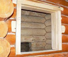 Проемы в деревянном доме