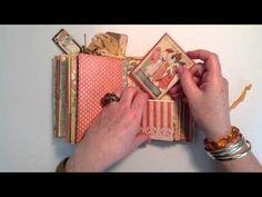 Graphic 45 Ladies Diary Journal/Mini Album - YouTube