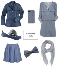 Chambray- the perfect look for spring!