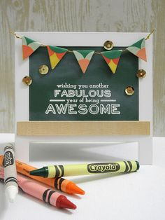 Another Fabulous Year by Jennifer Ingle #backtoschool #myfavoritethings #simonsaysstamp #altenew