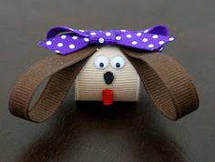 My name is Momma: The Puppy hair clip (HOW TO)