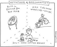 Advantages of Bike Commuting