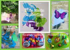 Themed Units from Twodaloo: Toddler activities for butterflies, ocean, transportation, colors, and more organized by theme
