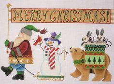 Santa Parade w Charms Brenda Stofft