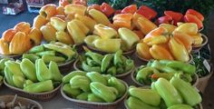 Mild peppers - because some don't like it hot :-)