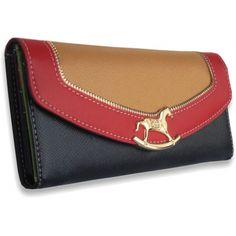 Peňaženka kožená Horse, čierna 12743 - VašeKabelky.sk