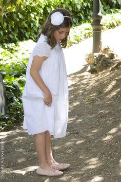 Vestidos de Primera Comunión de Teresa Palazuelo. Especial Primera Comunion www.CharHadas.com