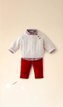 Little French outfit for a toddler boy. On sale now.
