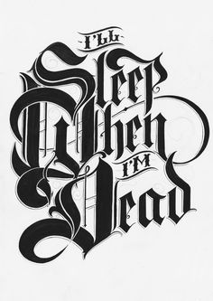 Ged Palmer #gedpalmer #grafica #vintage #lettering #fraktur