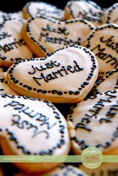 Wedding cookies :)