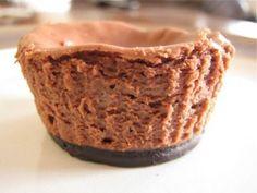 Individual Mint Chocolate Cheesecake
