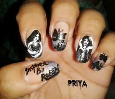 Gothic nails - nailartgallery.nailsmag.com Nail Art Gallery by nailsmag.com