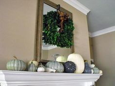 Painted Pumpkins - 10 Easy Decorating Ideas for Fall on HGTV
