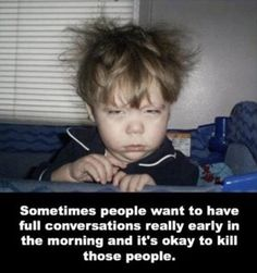not a morning person, funny quotes