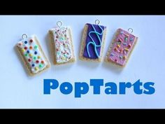 PopTarts - Polymer Clay Tutorial - YouTube