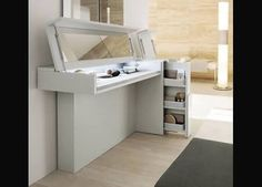 Modern Vanity Table And Dressing Tables With Mirror On Pinterest