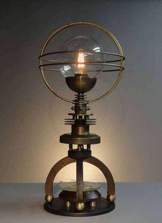 Designer Art Donovan's Lighting Fixtures Reference Mechanical Subgenre