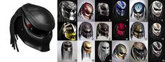 Predator 2 Motorcycle Helmet is the Coolest Motorcycle Helmet EVER...