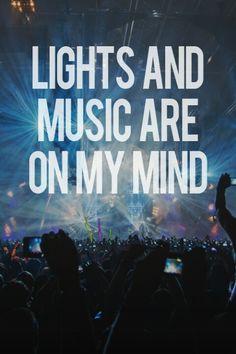 lights & music <3