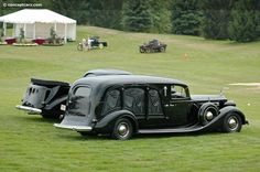 1932 Packard Carved Panel Hearse