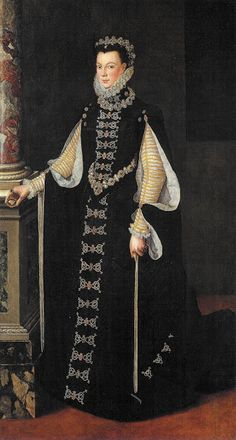 Elisabeth de Valois,Queen of Spain,1565 by Sofonisba Anguissola