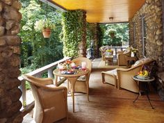 Transitional Outdoors from Ron Nathan on HGTV