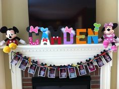 """Photo 6 of 15: Mickey Mouse Clubhouse or Minnie Mouse / Birthday """"Camden's First Birthday"""" 