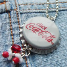 Diet coke pendant