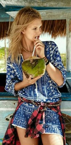 Tropical Resort Escape | #NadineLeopold by #HilaryWalsh for #GlamourFrance June 2014 | cynthia record