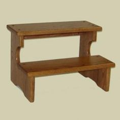 Redux Antique Hardwood Bed Step Stools - HeritageEarly American Bed Step Stool. Caringly hand-built & hand-finished by Mennonite & Amish craftsmen. Full range of sizes available. Choose from premium Oak, Maple, or Cherry hardwoods and a broad selection of durable modern finish colors. Find out more about the solid hardwood Heritage Early American Bed Step Stool at http://www.mennonite-furniture-studios.com/Amish-Heritage-Early-American-Bed-Step-Stool-(2-Steps)/
