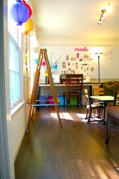 Do you have a special space in your home where your children can just create?