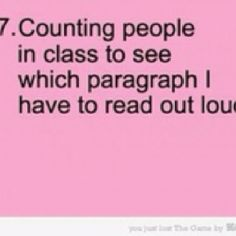 Hahaha, I remember doing that!