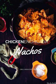 Chicken Enchiladas v
