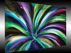 Abstract Painting Flower Painting